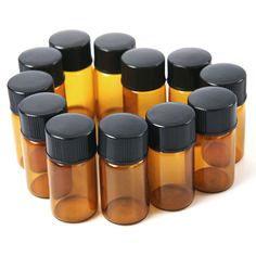 2 ml Amber Essential Oil Bottle with Orifice Reducer and cap. 1 ml Amber Essential Oil Bottle with Orifice Reducer and cap. Perfect for Fragrances oils, Essential Oils or Lab Supplies. Available Colors: Amber. Brown Bottles, Amber Glass Bottles, Glass Vials, Perfume Bottles, Essential Oil Bottles, Pure Essential Oils, Cosmetic Bottles, Diffuser Jewelry, Ambre