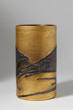 Ceramic Vase by T. Muona for Arabia, Finland, circa Glass Ceramic, Ceramic Clay, Ceramic Pottery, Pottery Art, Vases For Sale, Clay Vase, Mid Century Modern Art, Handmade Pottery, Vintage Ceramic