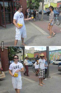When life gives you lemons Halloween costume