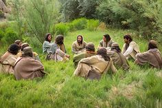 """Jesus asks His disciples, """"Whom do men say that I the Son of Man am?"""""""