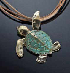 Loggerhead marine sea turtles