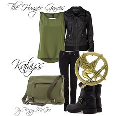 """""""Katniss"""" by frenzymcgee on Polyvore"""