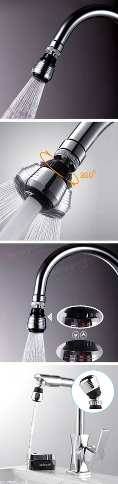 The water tap bubbler fits all standard taps with external thread and internal thread Water Tap, Save Water, Water Saving Devices, Filters, Home Improvement, Faucets, Water, Taps