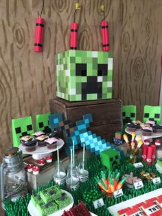 Minecraft Birthday Party Ideas | Photo 1 of 20