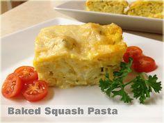 Baked Squash Pasta Recipe