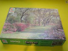 Milton Bradley Grand Series Charlestown s C Jigsaw Puzzle 2500 Pieces 1978 | eBay $17.99