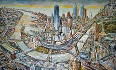 Melbourne in Art | Forum | Urban Melbourne. Jan Senbergs.