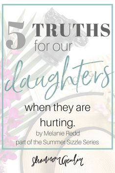 What Do We Do When Our Daughters Hurt? shannongeurin.com...