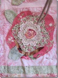 Image result for french rose quilt pattern