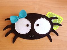 Pacha the Spider -Purse-. $16.00, via Etsy.