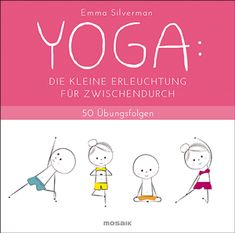"""Buch """"Yoga: Die kleine Erleuchtung für zwischendurch"""" Pms, Yoga Fitness, Place Cards, Family Guy, Place Card Holders, Comics, Fictional Characters, Sport, Mood Swings"""