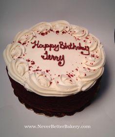 A red velvet cake for one of my customer's.
