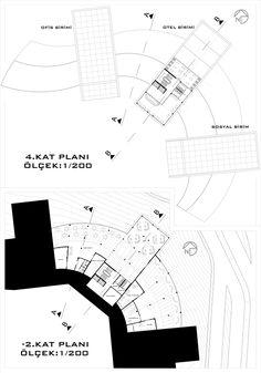 Model Architecture Concept Diagram, Architecture Design, Architectural Thesis, Hospital Design, Nature Center, Floor Plans, How To Plan, Project Ideas, Preschool