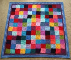 Granny Patchwork blanket from Attic24.