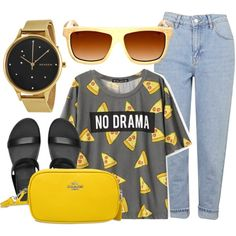 How To Wear No Drama Outfit Idea 2017 - Fashion Trends Ready To Wear For Plus Size, Curvy Women Over 20, 30, 40, 50