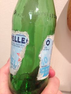 6 different techniques for removing a bottle label or other difficult adhesive