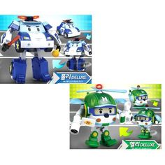 ROBOCAR POLI Deluxe Transformer Toy : POLI + HELLY [Special Limited Edition]: Amazon.fr: Jeux et Jouets