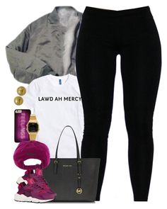 """""""Untitled #1515"""" by power-beauty ❤ liked on Polyvore featuring Michael Kors, Casio, Polo Ralph Lauren, NIKE and Chanel"""