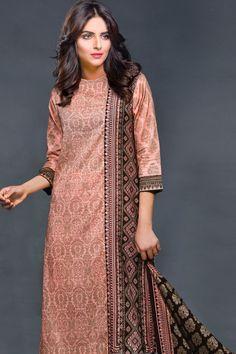 Product code: SUT-0600-LD 03-Pcs Suit SHIRT PRINTED, PRINTED LAWN DUPATTA  , TROUSER PLAIN COTTON   Shop Online www.nimsay.pk
