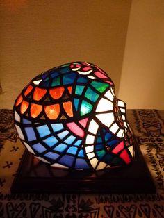 ランプ - ステンドグラス-NEW TRAD Glass Art-