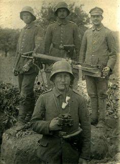 Word War I German solders