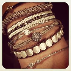 ARM PARTY!!!!!!  Love this combo of bracelets!  http://www.stelladot.com/ts/er8m5