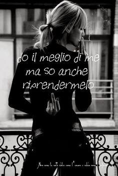 Nero come la notte dolce come l'amore caldo come l'inferno: do il meglio di me ma so anche riprendermelo (cit.)
