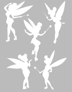 Fairy Silhouette, Silhouette Portrait, Kirigami, Tattoo Coloring Book, Art Disney, Mickey Mouse Cartoon, Fairy Jars, Tinkerbell Party, Jar Lanterns