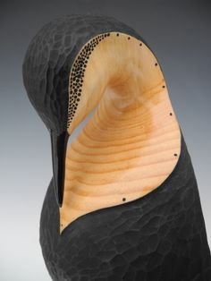 Pine by Rex Homan Art Sculpture, Animal Sculptures, Abstract Sculpture, Sculpture Ideas, Wood Bird, Tree Carving, Maori Art, Got Wood, Wooden Animals