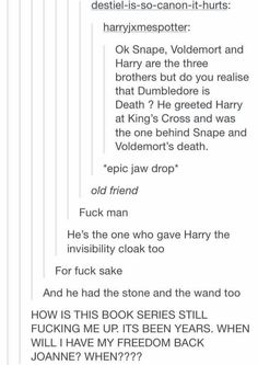 Harry Potter. Still blowing our minds after all these years