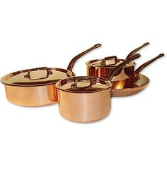 Accentuate contemporary kitchen decor with beautiful copper cooking accessories...