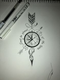 65 ideas for a beautiful and meaningful compass tattoo %%page%% - Architecture E-zine There is such a vast array of tattoo options. In this article, however, we are going to focus on the beautiful and meaningful compass tattoo. Trendy Tattoos, Cute Tattoos, New Tattoos, Body Art Tattoos, Sleeve Tattoos, Awesome Tattoos, Gorgeous Tattoos, Temporary Tattoos, Tatoos