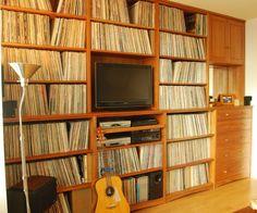 Got a lot of vinyl to organize.