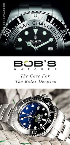 The Case For The Rolex Deepsea | Bob's Watches | #Rolex #Deepsea #DeepseaCase #BobsWatches