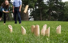 Finnish outdoor game Mölkky is perfect for your summer parties!