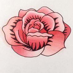 Deuxième essaie avec les marqueurs Chameleon, que ma soeur m'a offert #rose #rouge #red #dessin #draw #drawoftheday #artist #drawing #desenho #dibujo #illustration #coloring #coloriage #chameleon #pen #chameleonpens #feutre #marqueur #flower #fleur #deuxiemeessaie #doodle #post #mydraw #mydrawing #myart #artdraw #artdrawing #art