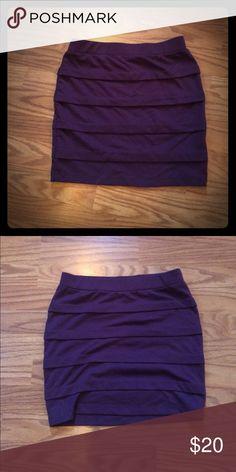 Medium purple forever 21 skirt Medium purple forever 21 skirt Forever 21 Skirts