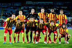 Equipos de fútbol: BARCELONA contra Getafe 16/01/2014