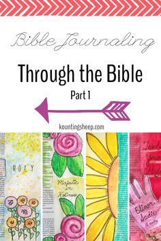 I finally got a chance to blog about my new journaling Bible and the start of my journey to illustrate one page in each book of the Bible. You can read Part 1 on my blog as I briefly describe my process in Genesis through Ruth: http://kountingsheep.com/2016/02/17/bible-journaling-through-the-bible-part-1/