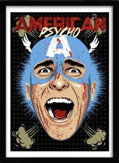 'Captain Psycho' by Butcher Billy released through K.olin Tribu. #americanpsycho
