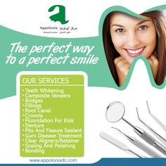 Avail from our multitude of services and ensure an oral and dental health that never witnesses a bad day!