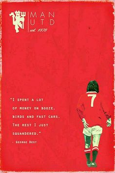 George Best of Man Utd wallpaper.