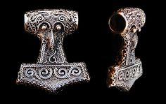 SNTH5 - Skåne thorshammer - bronze
