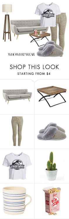 """Feeling Myself"" by dorabutina ❤ liked on Polyvore featuring beauty, Vince, Just Sheepskin, New Look, contest and Netflixbinge"
