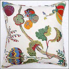 Josef Frank pillow available through Beautiful Pillows.