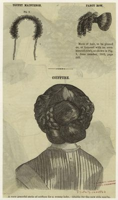 Katie Jacobs: Hair Peace: Learning to Love False Hair Civil War Hairstyles, Historical Hairstyles, Victorian Hairstyles, Retro Hairstyles, Wedding Hairstyles, Musical Hair, Fancy Bows, 1920s Hair, Hair Raising