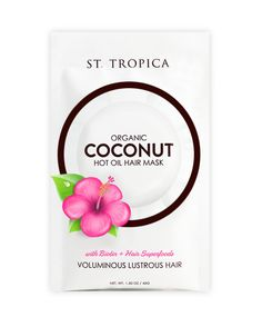 ST. TROPICA Hair Mask 2 pack front