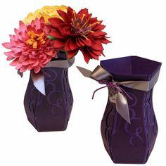 Bits of Paper: 3D Paper Vases!