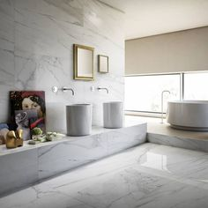 TileSpace: Bathroom Tile Trends of the Season - SA Decor & Design Ensuite Bathrooms, Diy On A Budget, Living Room Bedroom, Minimalist Home, Bathroom Inspiration, Cheap Home Decor, Small Spaces, Interior Design, Marmi