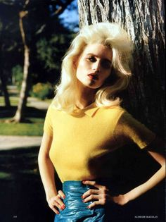 Abbey Lee Kershaw Vogue UK - With the influence of the 1950s and 1960s still reigning supreme in the fashion world, it should come as no surprise that the Abbey Lee Kershaw Vog...